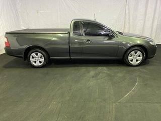 2008 Ford Falcon FG Ute Super Cab Grey 5 Speed Sports Automatic Utility