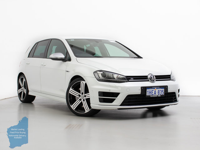 Used Volkswagen Golf AU MY16 R, 2016 Volkswagen Golf AU MY16 R White 6 Speed Direct Shift Hatchback