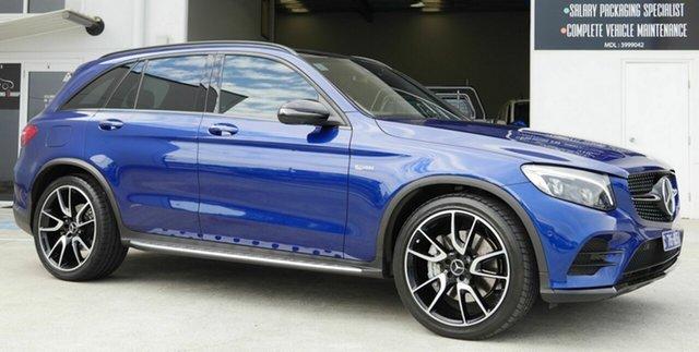 Used Mercedes-Benz GLC-Class X253 809MY GLC43 AMG 9G-Tronic 4MATIC Capalaba, 2018 Mercedes-Benz GLC-Class X253 809MY GLC43 AMG 9G-Tronic 4MATIC Blue 9 Speed Sports Automatic