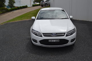 2013 Ford Falcon FG MkII XT White 6 Speed Sports Automatic Sedan.