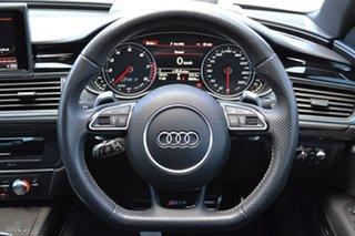 2016 Audi RS 7 4G MY16 performance Sportback Tiptronic Quattro Black 8 Speed Sports Automatic