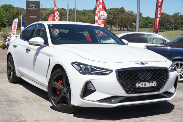Used Genesis G70 IK MY19 Sport Phillip, 2018 Genesis G70 IK MY19 Sport White 8 Speed Sports Automatic Sedan