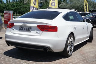2013 Audi A5 8T MY13 Sportback S Tronic Quattro White 7 Speed Sports Automatic Dual Clutch Hatchback