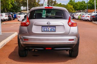 2014 Nissan Juke F15 MY14 ST 2WD Silver 5 Speed Manual Hatchback.