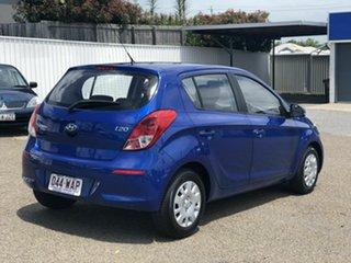 2014 Hyundai i20 PB MY14 Active Blue 4 Speed Automatic Hatchback.