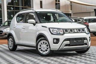 2020 Suzuki Ignis MF Series II GL Pure White 5 Speed Manual Hatchback.