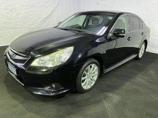 2010 Subaru Liberty B5 MY10 2.5i Lineartronic AWD Premium Black 6 Speed Constant Variable Sedan.
