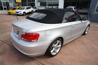 2013 BMW 118d E88 MY13 Update Silver 6 Speed Automatic Convertible