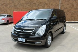 2013 Hyundai iMAX TQ MY13 Black 4 Speed Automatic Wagon.