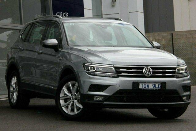 Used Volkswagen Tiguan Port Melbourne, 2019 Volkswagen Tiguan ALLSPACE 132TSI Silver 7 Speed Automatic Wagon