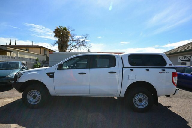 Used Ford Ranger PX XL 2.2 Hi-Rider (4x2) Blair Athol, 2015 Ford Ranger PX XL 2.2 Hi-Rider (4x2) White 6 Speed Automatic Crew Cab Pickup