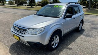 2011 Subaru Forester S3 MY11 X AWD Silver 4 Speed Sports Automatic Wagon