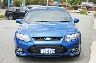 2014 Ford Falcon FG MkII XR6 Ute Super Cab Turbo Blue 6 Speed Manual Utility