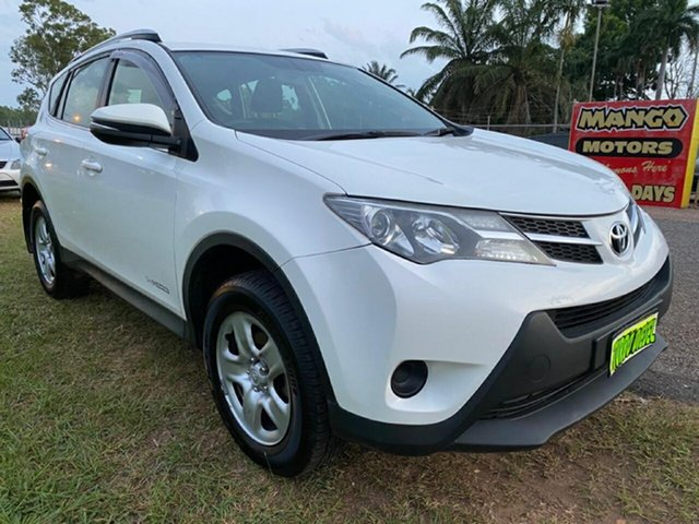 Used Toyota RAV4 ALA49R MY14 GX AWD Pinelands, 2015 Toyota RAV4 ALA49R MY14 GX AWD White 6 Speed Sports Automatic Wagon