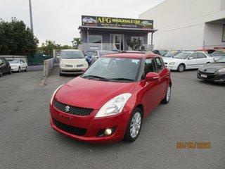 2011 Suzuki Swift FZ GLX Red 5 Speed Manual Hatchback.