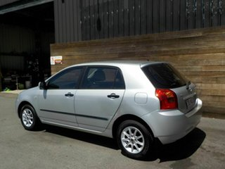 2002 Toyota Corolla ZZE122R Ascent Silver 5 Speed Manual Hatchback