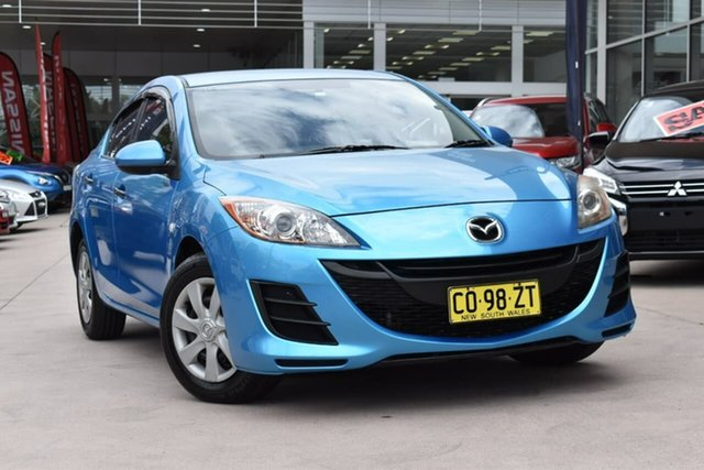 Used Mazda 3 BL10F1 MY10 Neo Blacktown, 2010 Mazda 3 BL10F1 MY10 Neo Blue 6 Speed Manual Sedan