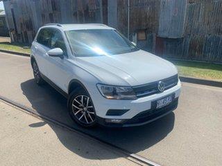 2018 Volkswagen Tiguan 5N MY18 132TSI DSG 4MOTION Comfortline White 7 Speed.