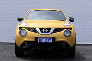 2015 Nissan Juke F15 Series 2 ST 2WD Yellow 6 Speed Manual Hatchback.