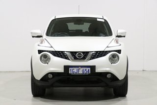 2017 Nissan Juke F15 Series 2 TI-S (AWD) White Continuous Variable Wagon.