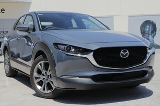 2020 Mazda CX-30 DM2WLA G25 SKYACTIV-Drive Astina Polymetal Grey 6 Speed Sports Automatic Wagon.