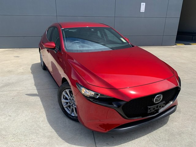 New Mazda 3 BP2H7A G20 SKYACTIV-Drive Pure Alexandria, 2020 Mazda 3 BP2H7A G20 SKYACTIV-Drive Pure Soul Red Crystal 6 Speed Sports Automatic Hatchback