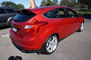 2011 Ford Focus LW Titanium PwrShift Candy Red 6 Speed Sports Automatic Dual Clutch Hatchback