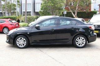 2011 Mazda 3 BL 11 Upgrade SP20 Skyactiv Black 6 Speed Automatic Sedan