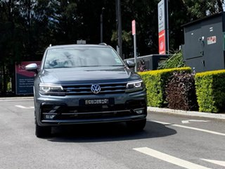 2020 Volkswagen Tiguan 5N MY20 162TSI Highline DSG 4MOTION Allspace Grey 7 Speed