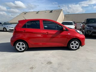 2016 Kia Picanto TA MY17 SI Red 4 Speed Automatic Hatchback.