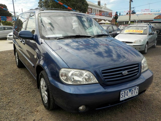 Used Kia Carnival LS Newtown, 2003 Kia Carnival LS Blue 4 Speed Automatic Wagon