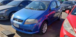 2008 Holden Barina TK MY08 Blue 5 Speed Manual Hatchback.