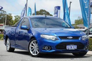 2014 Ford Falcon FG MkII XR6 Ute Super Cab Turbo Blue 6 Speed Manual Utility.