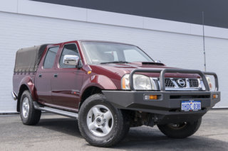 2009 Nissan Navara D22 MY2008 ST-R Maroon 5 Speed Manual Utility