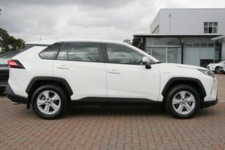 2019 Toyota RAV4 Axah52R GX 2WD White/cert 6 Speed Constant Variable SUV Hybrid