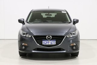 2016 Mazda 3 BM MY15 Maxx Grey 6 Speed Manual Hatchback.