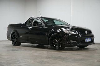 2016 Holden Ute VF II MY16 SV6 Ute Black Phantom 6 Speed Sports Automatic Utility.