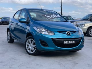 2012 Mazda 2 DE10Y2 MY12 Neo Blue 5 Speed Manual Hatchback.