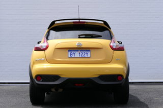 2015 Nissan Juke F15 Series 2 ST 2WD Yellow 6 Speed Manual Hatchback