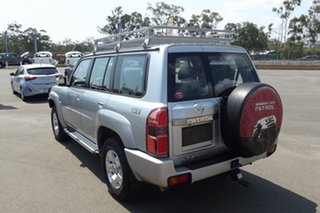 2016 Nissan Patrol Y61 GU 10 N-TEC Silver 5 Speed Manual Wagon.