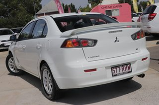 2010 Mitsubishi Lancer CJ MY11 SX Sportback White 6 Speed Constant Variable Hatchback