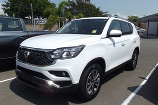 2020 Ssangyong Rexton Y400 MY20 ELX White 7 Speed Sports Automatic Wagon.