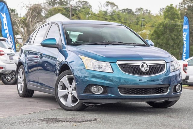 Used Holden Cruze JH Series II MY12 CD Gympie, 2012 Holden Cruze JH Series II MY12 CD Blue 6 Speed Sports Automatic Hatchback