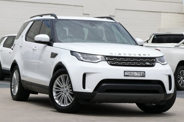 Used Land Rover Discovery Series 5 L462 MY19 SE Brookvale, 2019 Land Rover Discovery Series 5 L462 MY19 SE White 8 Speed Sports Automatic Wagon