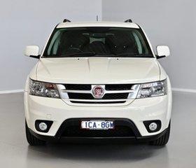 2013 Fiat Freemont JF Urban White 6 Speed Manual Wagon.