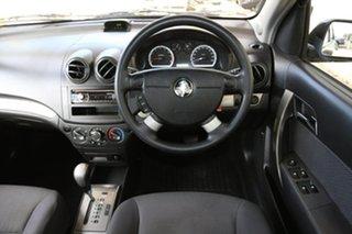 2006 Holden Barina TK MY07 Black 4 Speed Automatic Sedan