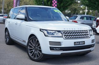 2017 Land Rover Range Rover L405 17MY Vogue SE Yulong White 8 Speed Sports Automatic Wagon.