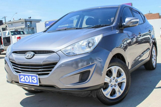 Used Hyundai ix35 LM2 Active Coburg North, 2013 Hyundai ix35 LM2 Active Grey 5 Speed Manual Wagon