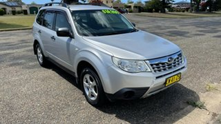 2011 Subaru Forester S3 MY11 X AWD Silver 4 Speed Sports Automatic Wagon.