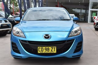 2010 Mazda 3 BL10F1 MY10 Neo Blue 6 Speed Manual Sedan.